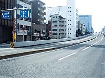 大阪府道天満付近