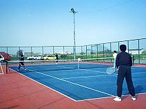 滋賀工場テニスコート