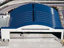 大阪国際空港JAS格納庫